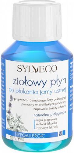 SYLVECO - Hipoalergiczny ziołowy płyn do płukania jamy ustnej - 100ml