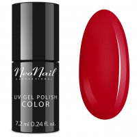 NeoNail - UV GEL POLISH COLOR - LADY IN RED - Lakier hybrydowy - 3209-7 - SEXY RED - 3209-7 - SEXY RED
