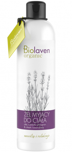 BIOLAVEN - Body Wash with Lavender and Grape - 300ml