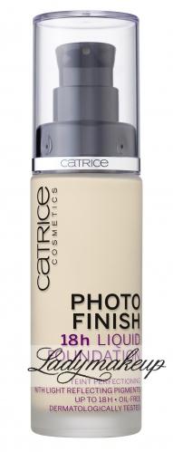 Catrice - Photo Finish 18h Liquid Fundation - Długotrwały podkład do twarzy
