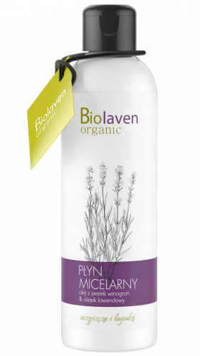 BIOLAVEN - Micellar Water with Lavender and Grape Extract - 200ml