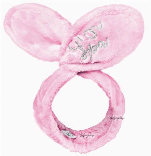 GLOV - Pink Bunny Ears Headband - Różowa opaska na włosy