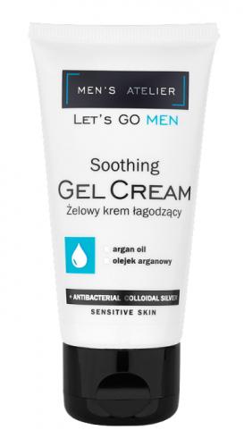 MEN'S Atelier - Soothing Gel Cream - Żelowy krem łagodzący dla mężczyzn
