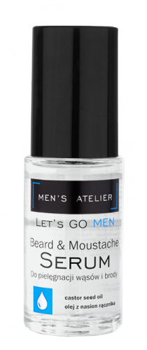 MEN'S Atelier - Let`s Go Men - Beard & Moustache Serum - Serum do pielęgnacji wąsów i brody