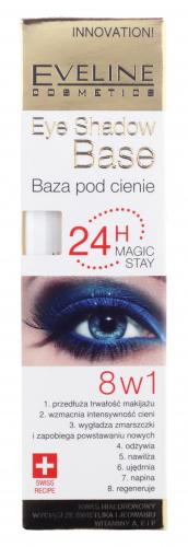 EVELINE - Eye Shadow Base 24H Magic Stay - Baza pod cienie do powiek 8w1