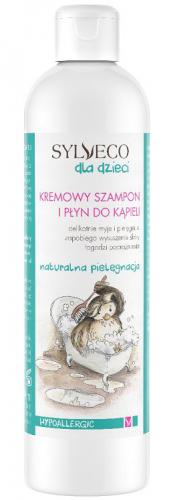 SYLVECO - Szampon i płyn do kąpieli dla dzieci i niemowląt - 300ml