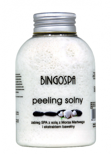 BINGOSPA - Salt scrub for SPA treatments - 580g