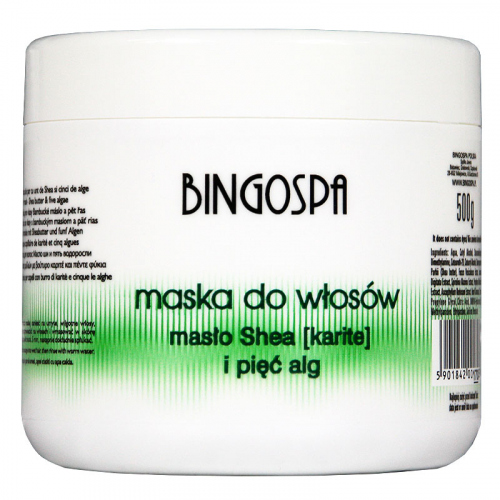 BINGOSPA - Hair mask with Shea butter and algae - 500g