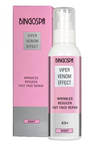 BINGOSPA - Viper Venom Effect - Reduktor zmarszczek - Krem do twarzy na noc z jadem żmii - 60+