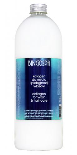 BINGOSPA - COLLAGEN FOR WASHING AND HAIR CARE - Kolagen do mycia i pielęgnacji włosów normalnych i zniszczonych - 1000ml
