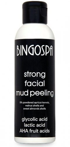 BINGOSPA - Strong Facial Mud AHA Peeling - 120g