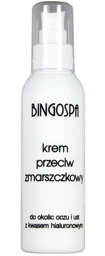 BINGOSPA - Przeciwzmarszczkowy krem do okolic oczu i ust z kwasem hialuronowym - 135g