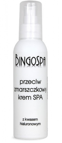 BINGOSPA - Anti-wrinkle SPA Cream with Hyaluronic Acid - 150g