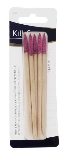 KillyS - Drewniane patyczki do manicure - 5 sztuk - Różowe