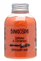 BINGOSPA - SPA treatment - Anti-cellulite bath salt with caffeine and cinnamon - 600g