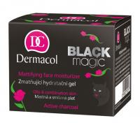 Dermacol - Black Magic Gel - Mattifying Face Moisturizer - Matująco-nawilżający żel do twarzy z aktywnym węglem