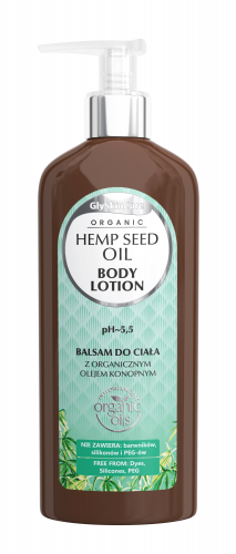 GlySkinCare - ORGANIC HEMP SEED OIL - BODY LOTION