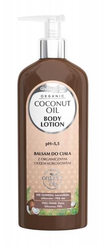 GlySkinCare - ORGANIC COCONUT OIL - BODY LOTION - Balsam do ciała z organicznym olejem kokosowym