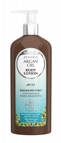 GlySkinCare - ORGANIC ARGAN OIL - BODY LOTION - Balsam do ciała z organicznym olejem arganowym