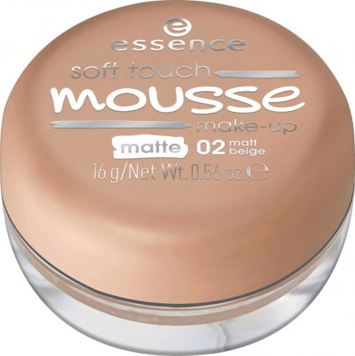 Essence - Soft Touch Mousse Makeup - Podkład do twarzy