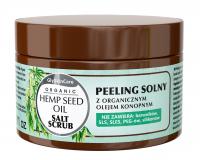 GlySkinCare - ORGANIC HEMP SEED OIL - SALT SCRUB - Peeling solny z organicznym olejem konopnym