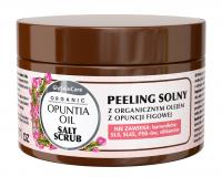 GlySkinCare - ORGANIC OPUNTIA OIL - SALT SCRUB - Peeling solny z organicznym olejem z opuncji figowej