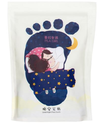 PIL'ATEN - PILA GIRL - Good Night Foot Patch - 7 dniowa kuracja detoksykująca do stóp