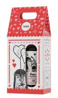 YOPE - Zestaw Walentynkowy - Żel pod prysznic Róża i Kadzidłowiec 400 ml + Balsam do rąk i ciała Wanilia i Cynamon 300ml