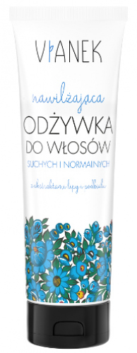 VIANEK - Nawilżająca odżywka do włosów suchych i normalnych z ekstraktem z lipy i podbiału - 250ml