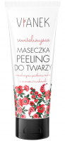 VIANEK - Revitalizing face-peeling mask with ground seeds of raspberry and strawberry fruits - 75ml