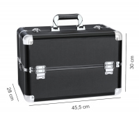 MAKE-UP BOX HZ015 BLACK