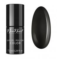 NeoNail - UV GEL POLISH COLOR - GRUNGE - Lakier hybrydowy - 6 ml i 7,2 ml - 2996-7 PURE BLACK - 2996-7 PURE BLACK