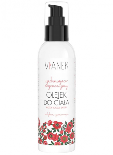 VIANEK - Firming and regenerating body oil with cinnamon oil - 200 ml