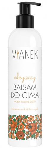 VIANEK - Odżywczy balsam do ciała z ekstraktami z miodunki, lnu i nagietka - 300 ml