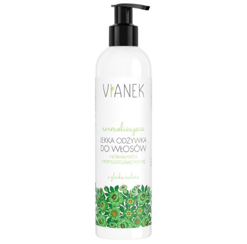 VIANEK - Normalizująca, lekka odżywka do włosów normalnych i przetłuszczających się - 300 ml