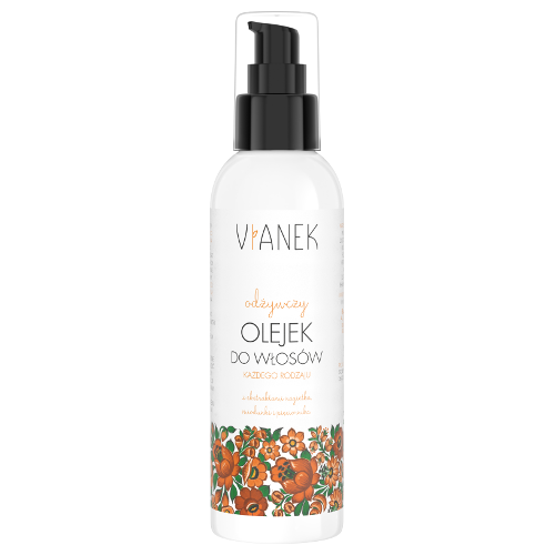 VIANEK - Nourishing hair oil with marigold, honeydew and quinquefolia - 200 ml
