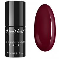 NeoNail - UV GEL POLISH COLOR - LADY IN RED - Lakier hybrydowy - 2617-7 WINE RED - 2617-7 WINE RED