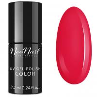 NeoNail - UV GEL POLISH COLOR - LADY IN RED - Lakier hybrydowy - 2690-7 POPPY HILL - 2690-7 POPPY HILL