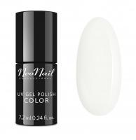 NeoNail - UV GEL POLISH COLOR - MILADY - Hybrid Varnish - 6 ml - 4659-7 WHITE COLLAR - 4659-7 WHITE COLLAR