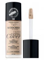 Deborah Milano - 24ORE Extra Cover - 2 IN 1 FOUNDATION AND CONCEALER - 00 - 00