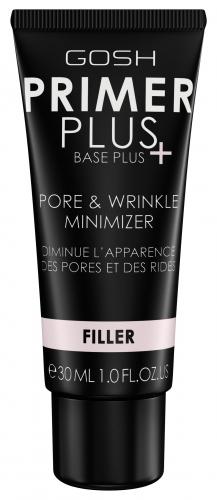 GOSH - PRIMER PLUS PORE & WRINKLE MINIMIZER - FILLER - Wygładzająca baza pod makijaż