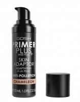 GOSH - PRIMER PLUS BASE - SKIN ADAPT - Baza pod makijaż adaptująca się do koloru skóry - 005 CHAMELEON
