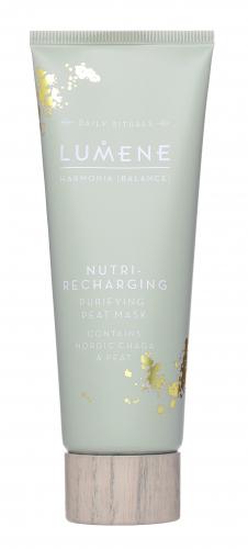 LUMENE - Harmonia Nutri-Recharging Purifying Peat Mask - Oczyszczająca maska do twarzy z torfem