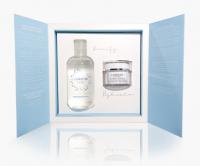 LUMENE - FINLAND - LAHDE Gift Set - Zestaw prezentowy kosmetyków do pielęgnacji twarzy - Pure Arctic Płyn micelarny 250 ml + Intense Hydration Krem nawadniający 50 ml