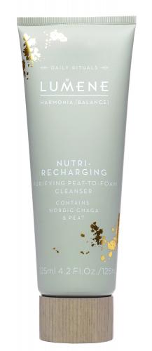 LUMENE - Harmonia Nutri-Recharging Puryfying Peat-To-Foam Cleanser - Torfowy krem myjący do twarzy