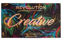 MAKEUP REVOLUTION - Creative Vol 1 Makeup Pigment Palette - Paleta 24 cieni do powiek