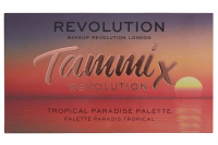 MAKEUP REVOLUTION - TAMMI X REVOLUTION - Tropical Paradise Palette - Paleta 23 cieni do powiek