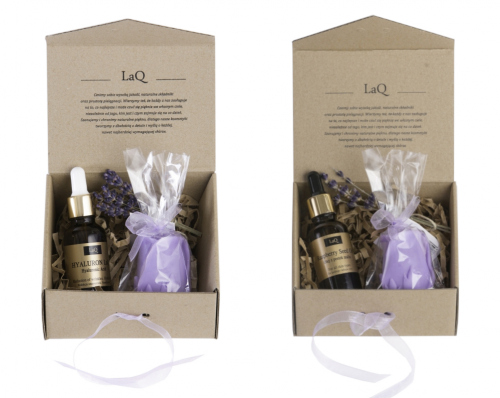 LaQ - Zestaw Hyaluron LaQ 01 + Olej z pestek malin