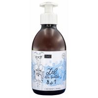 LaQ -SHOWER GEL FOR MEN 8 IN 1 - Żel pod prysznic dla facetów 8 w 1 - 300 ml