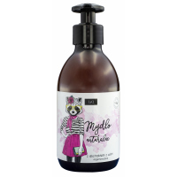 LaQ - Natural, regenerating liquid soap with cherry extract